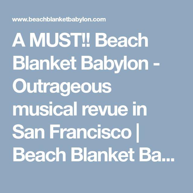 Beach Blanket Tempest Musical: Best 25+ Beach Blanket Ideas On Pinterest