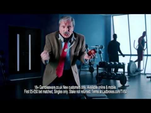 Chris Kamara Takes One For The Team! - Ladbrokes ad