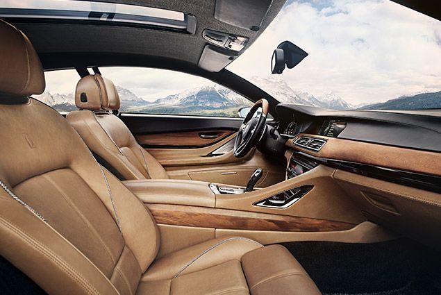 BMW Pininfarina Gran Lusso Coupé interior.