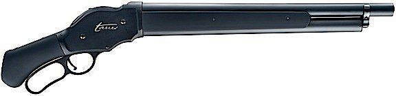 This Lever Action Shotgun is a replication of the shotgun that has been immortalized in Sci-Fi thrillers and Video games. The T-Series is based on the Chiappa 1887 Lever action shotgun that is alread