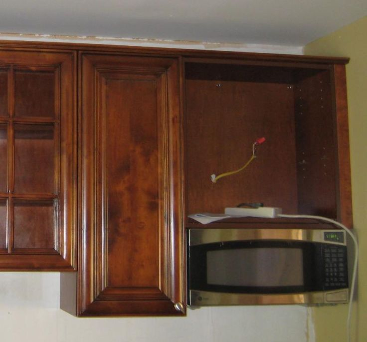 Kitchen Cabinet Ideas For Microwave: GE JXA019K Undercabinet Mounting Kit For Spacemaker II