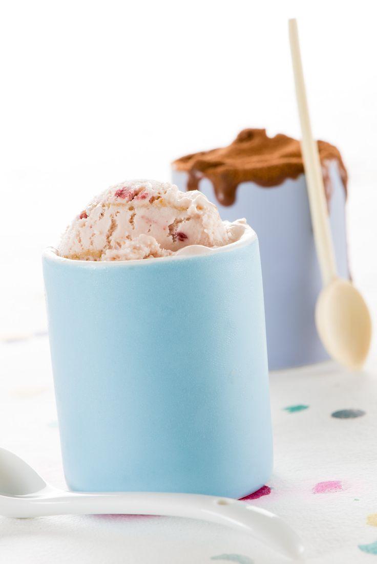 Una receta para dos #helados: de fresa y de chocolate