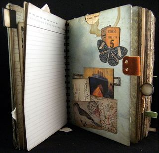 Scraps Of Time: new twitterings a storybook journal: