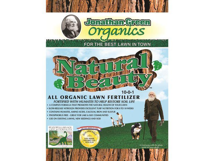 Natural Beauty All Organic Lawn Fertilizer 20 Pound