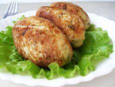 Куриные котлеты с картофелем и сыром