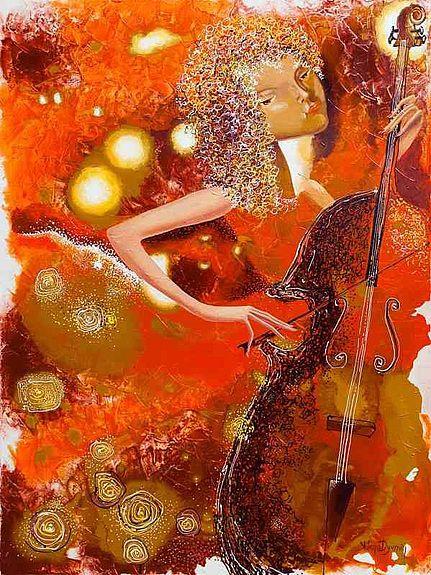 Sounds of Music II - Original Artwork  peinture abstraite  Art Figuratif