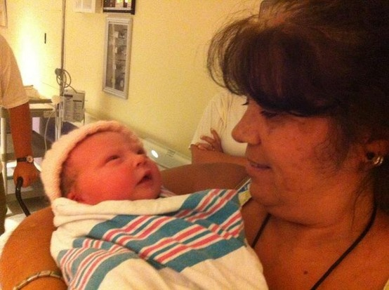 Tota and baby Payton#Pin By:Pinterest++ for iPad#