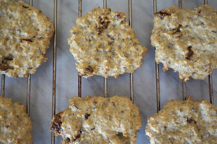 овсяное печенье с финиками без сахара и муки