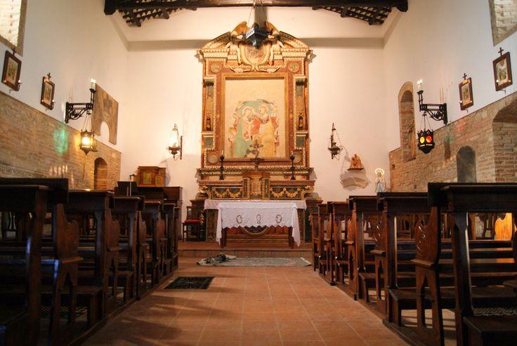 Interno della Chiesa della Madonna del Piano Santo #terredelpiceno