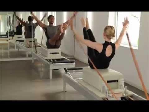 Joseph Pilates Reformer Duet by Bluebird Pilates Munich - YouTube