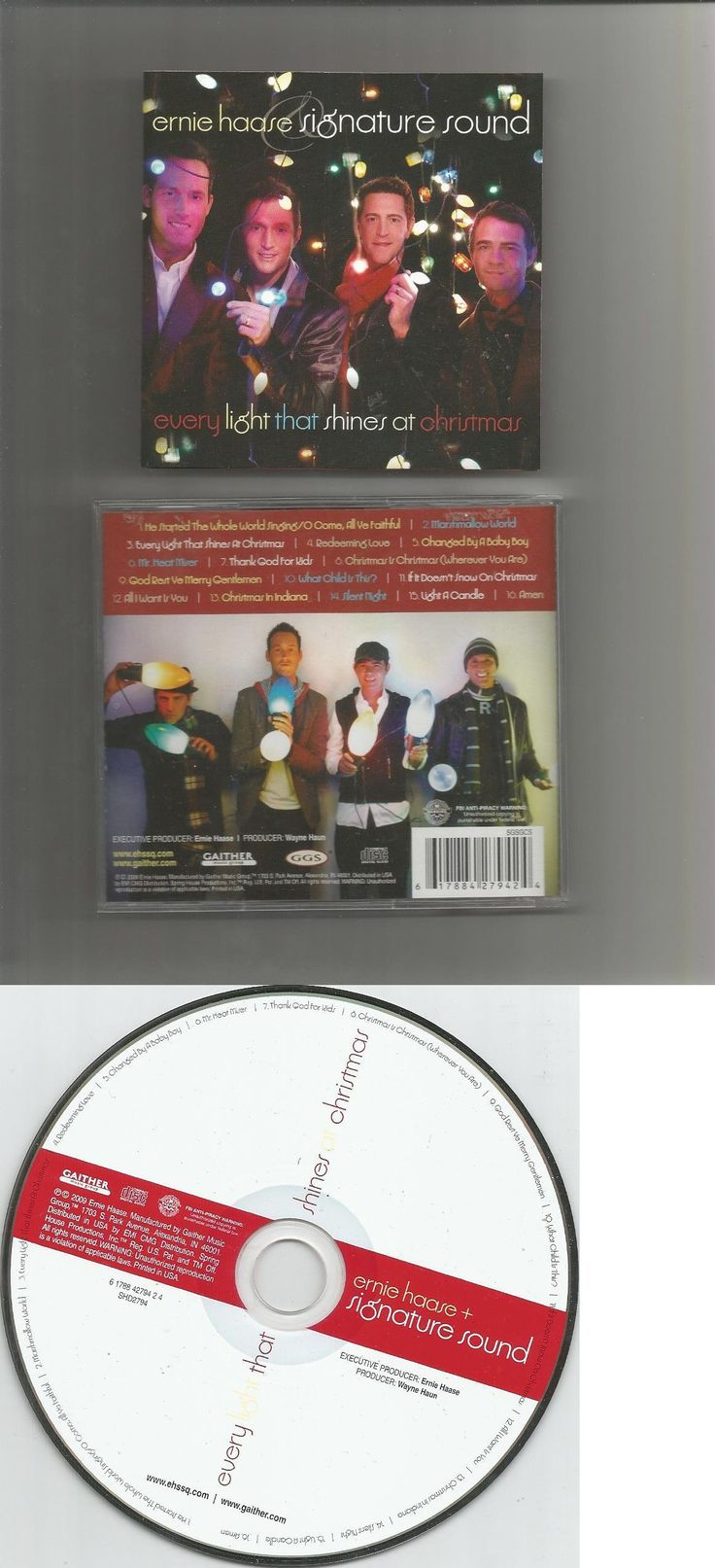 Christmas Songs And Album: Ernie Haase Signature Sound Every Light That Shines At Christmas Gaither Music -> BUY IT NOW ONLY: $1.99 on eBay!