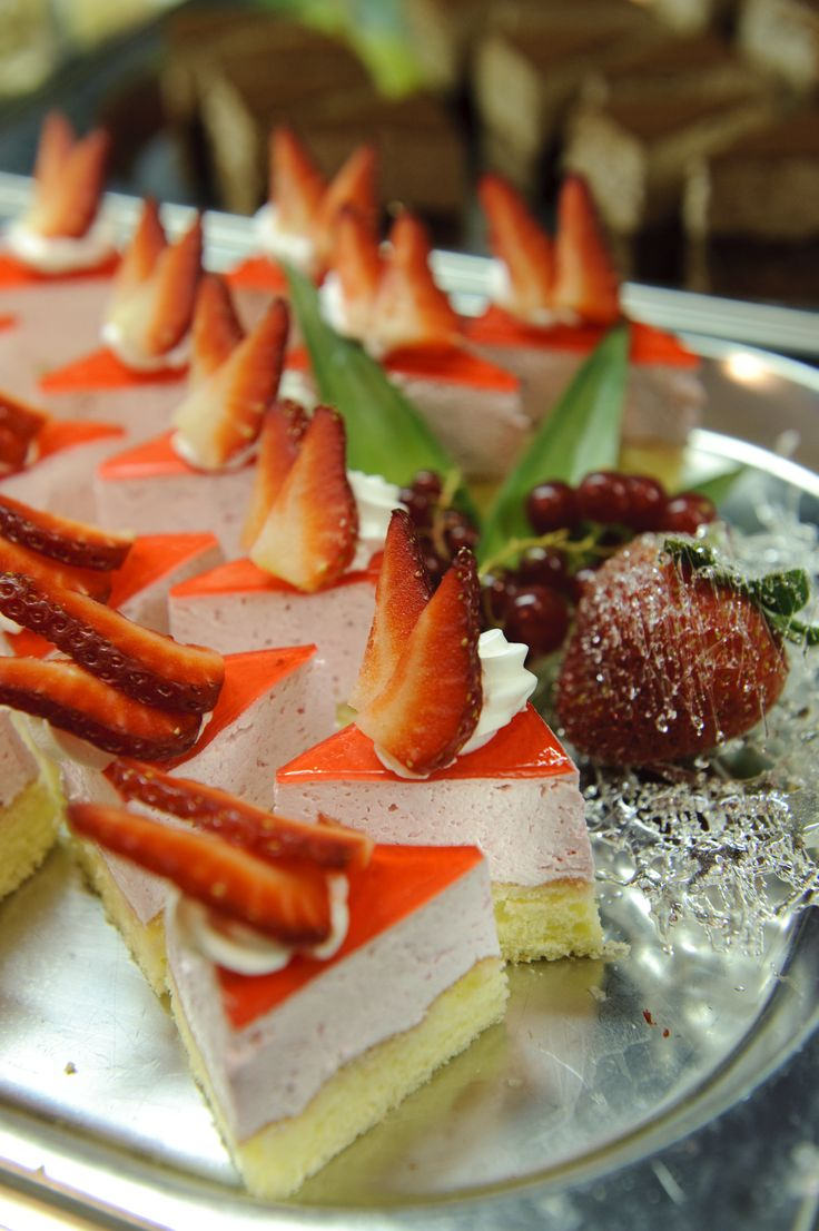 Strawberry cake - for Summer @ Trofea Grill Restaurant