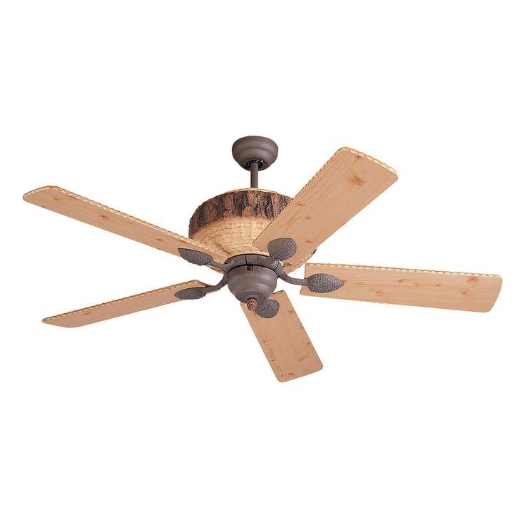 Ventilateur de plafond d'Intérieur Rustique