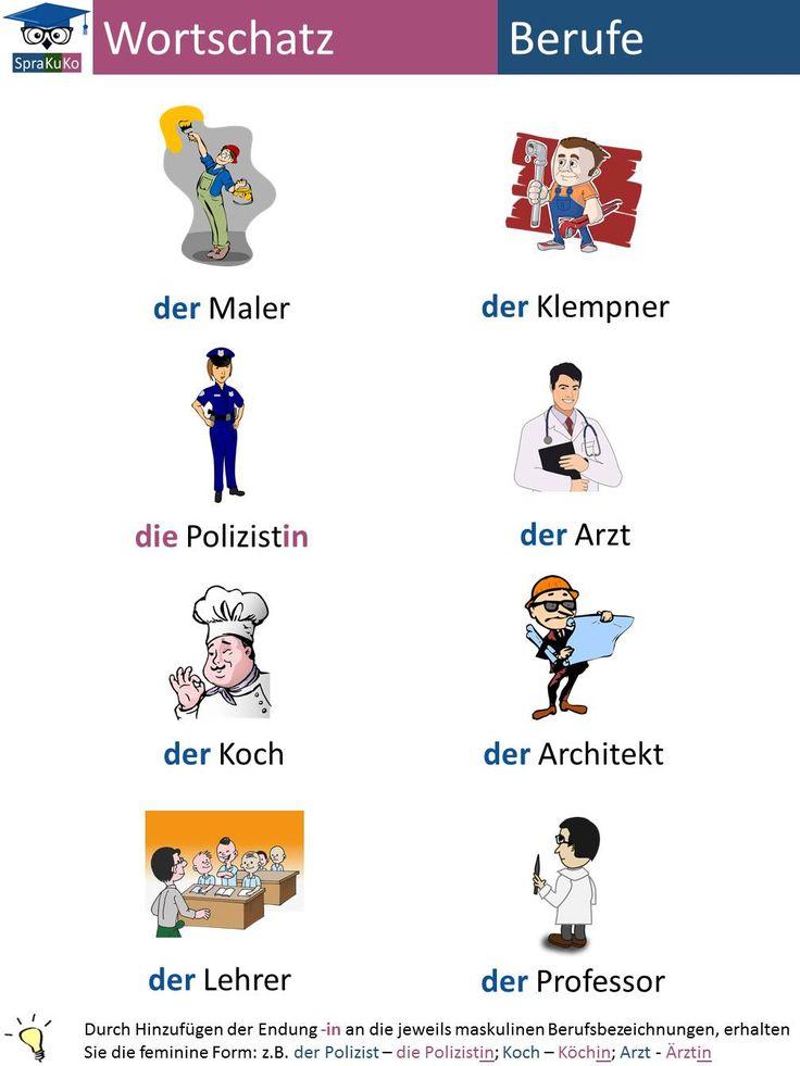 50+ best Deutsch lernen: Wortschatz images on Pinterest | At the ...