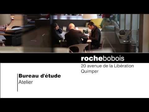 Vidéo de présentation du magasin de meubles Rochebobois à Quimper - www.air-media29.com