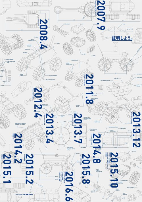 Japanese Poster: Hakuto. Uenishi Yuri. 2015