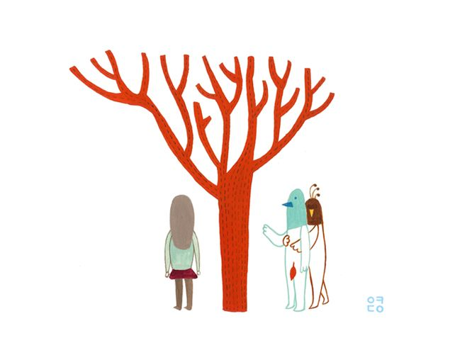 Trees: The Place Where We Were (2012) by Eunyoung Seo
