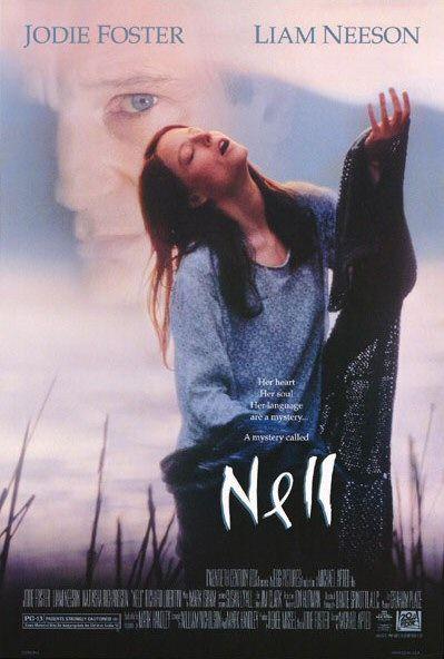 'Ta-in in tha win...' - AMAZING movie!Film, Movie Posters, Natasha Richardson, Jodie Foster, Nell 1994, Favorite Movie, Cinematic Movie, North Carolina, Liam Neeson
