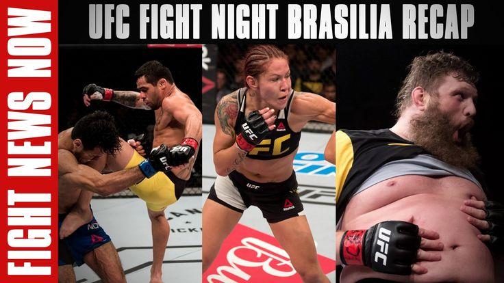 awesome UFC Battle Night Brasilia Wrap-up: Cris Cyborg, Renan Barao & Roy Nelson Win on Battle News Now