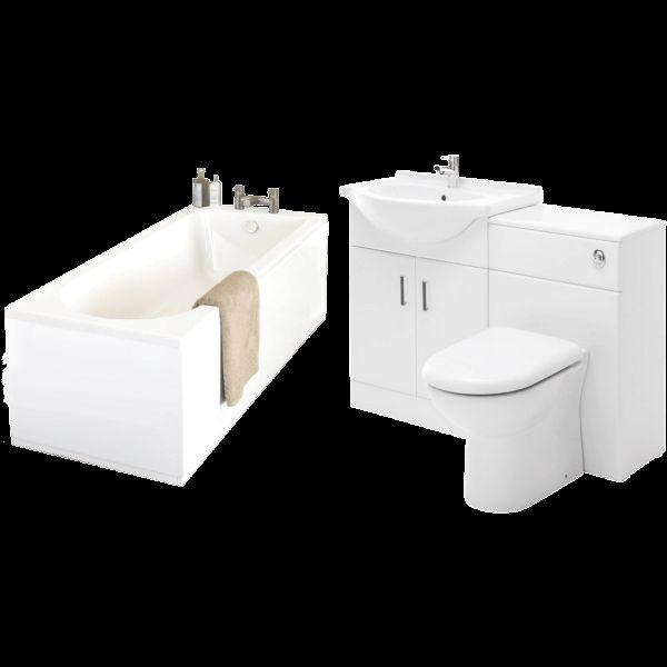 Vasari Saturn Bathroom Suite