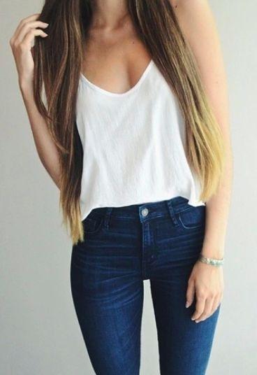 Basico nunca sai da moda #street #style casual #itgirl #basic