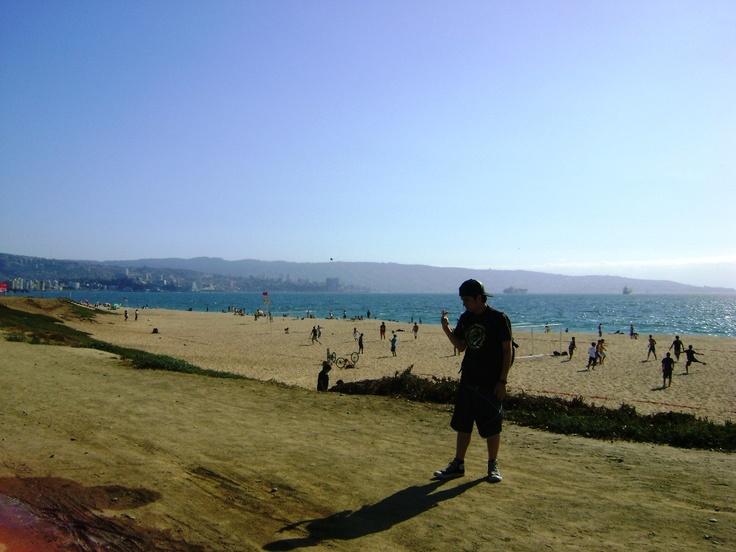 Playa Las Salinas, Viña del Mar.