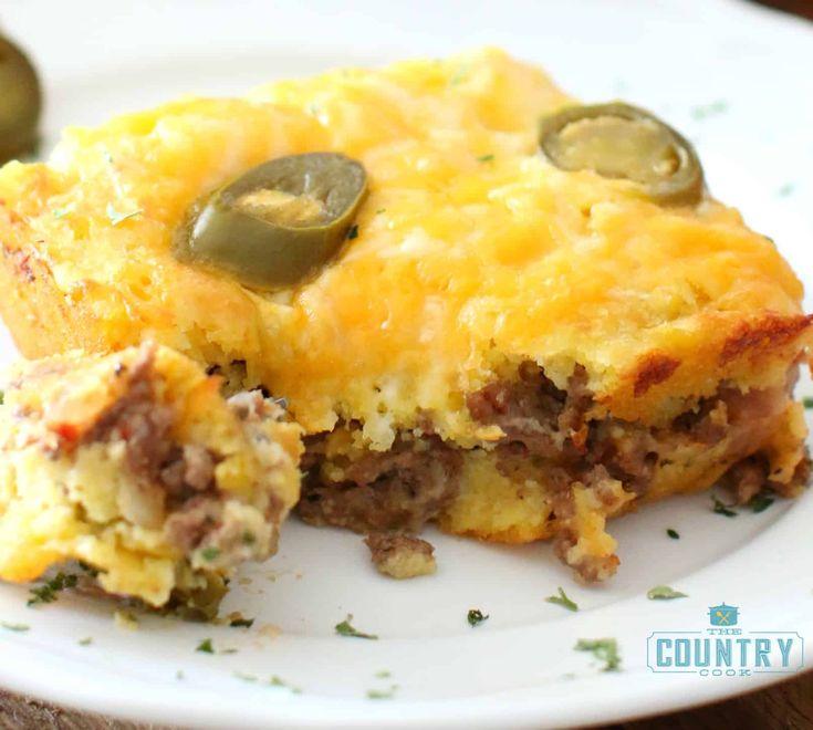 Cheesy Chile Cornbread Casserole Savory Experiments