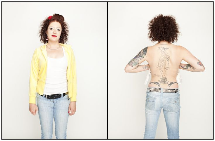 Hundreds Strip Down And Reveal Their Hidden Tattoos For Gorgeous Photo Project