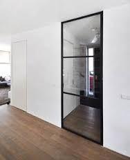 Afbeeldingsresultaat voor stalen deur zonder kozijn