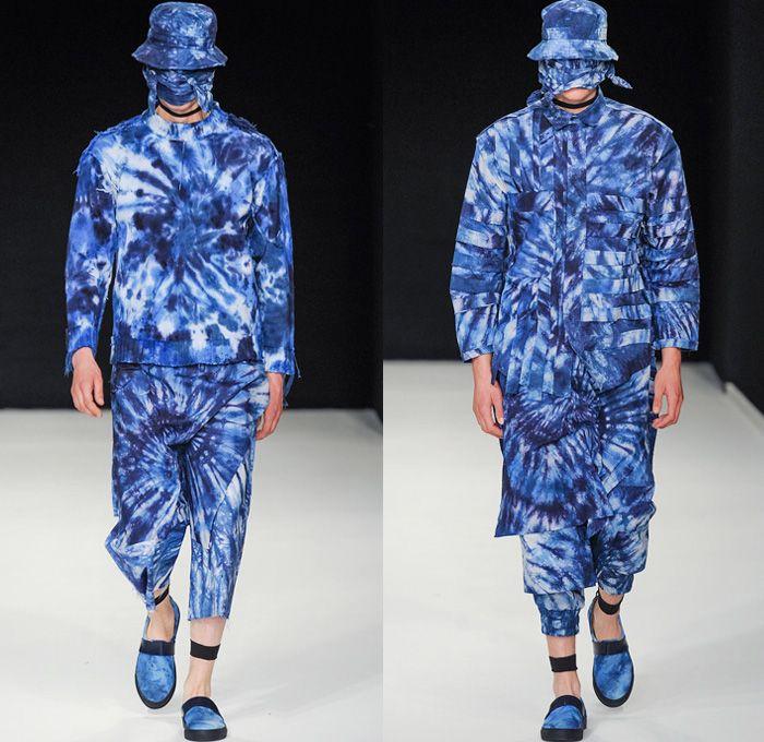 Craig Green MAN 2014 Spring Summer Mens Runway - London Collections Men Topman & Fashion East Catwalk Fashion Show: Designer Denim Jeans Fashion: Season Collections, Runways, Lookbooks and Linesheets