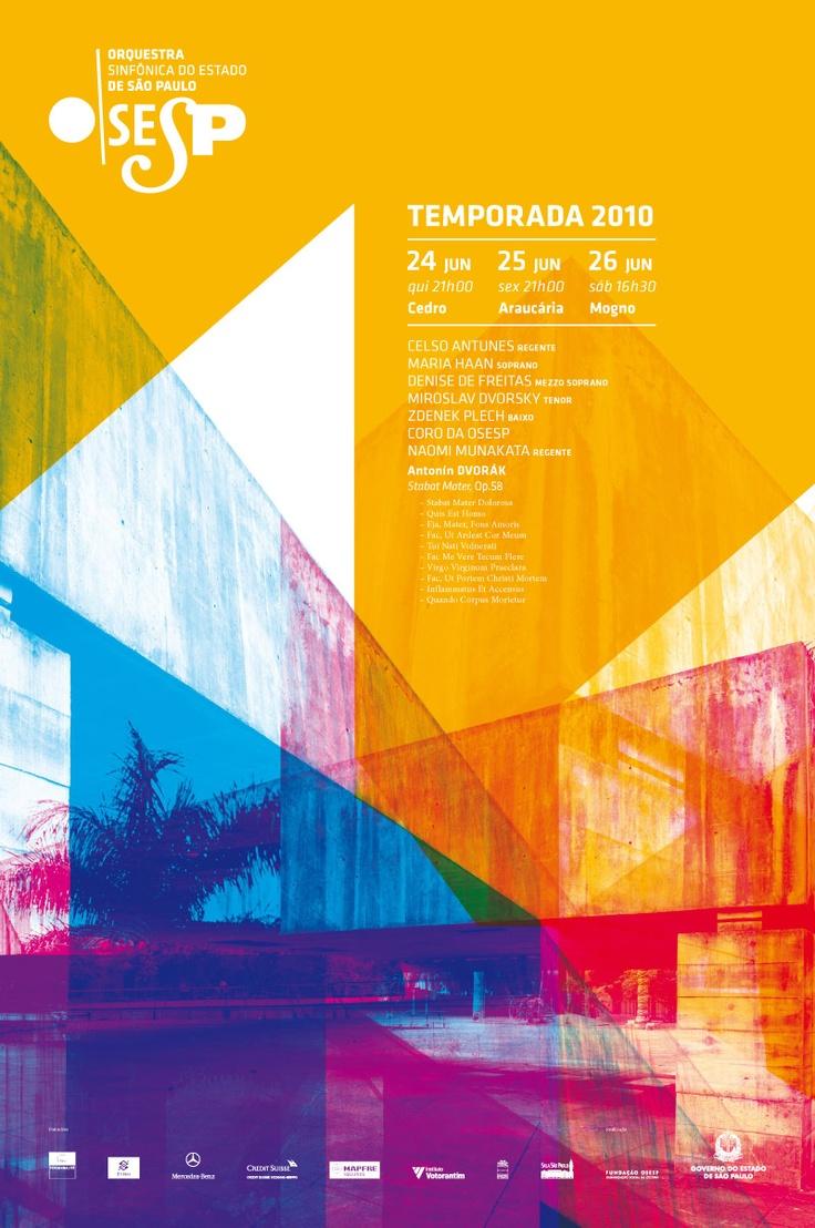 poster | OSESP-色彩的面積