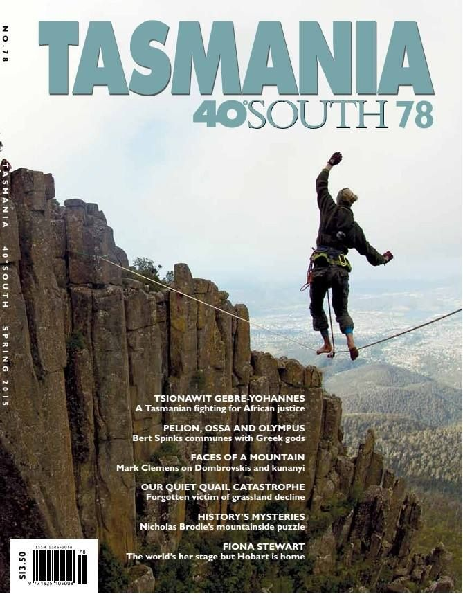 Issue 78 of 40South magazine is out. What an amazing cover photo of a wirewalk on the slopes of Mt Wellington / kunanyi. But also opinion, articles, artist's profiles, discoveries, lifestyle. This quarterly is another to assist you to explore or to add to cherished memories. #tasmania #discovertasmania #periodicals #magazines #tassie