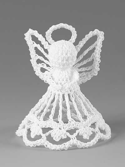 Itty Bitty Angels Crochet Patterns