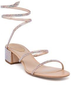 Are these Rene Caovilla Wraparound Swarovski Sandals gorgeous or what?!