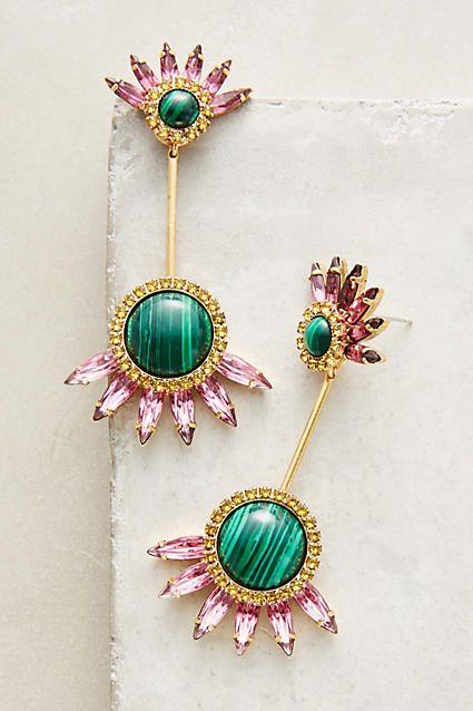 Clarabelle Jacket Earrings - anthropologie.com