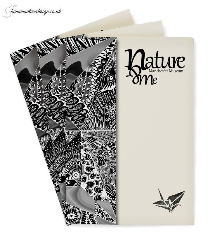 graphic design - Manchester Museum leaflet