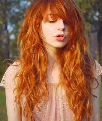 ярко рыжие кудрявые волосы - Поиск в Google