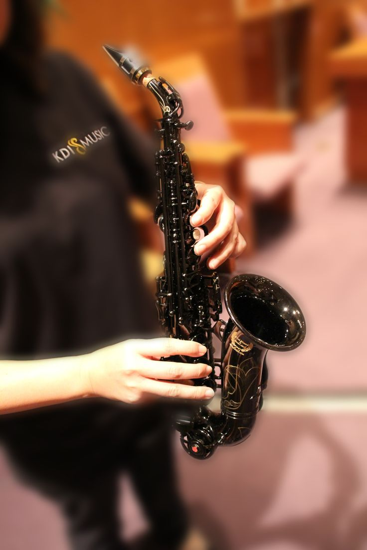 Black Diamond Professional Curved Soprano Saxophone