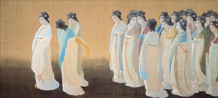 Wang Zhaojun (The Chinese Princess)  [Hishida Shunso]