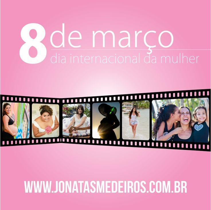 Campanha em comemoração do dia internacional das mulheres, para o fotógrafo Jônatas Medeiros.