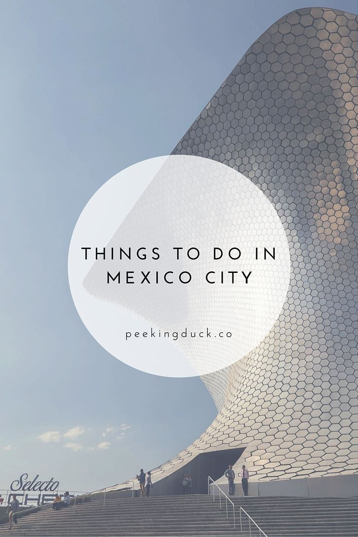 Things to do in Mexico City, from museums to pyramids to the best library ever!