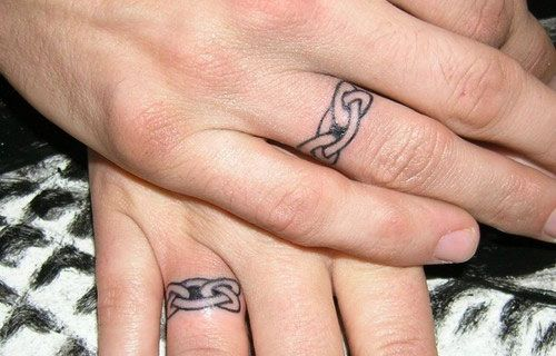 chainring 27 Stupendous Couple Tattoo Ideas