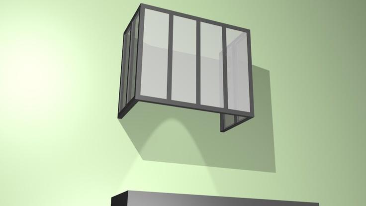 hotte m tal et verre opale pour ce cache hotte la finition est pr vue pour tre en m tal. Black Bedroom Furniture Sets. Home Design Ideas