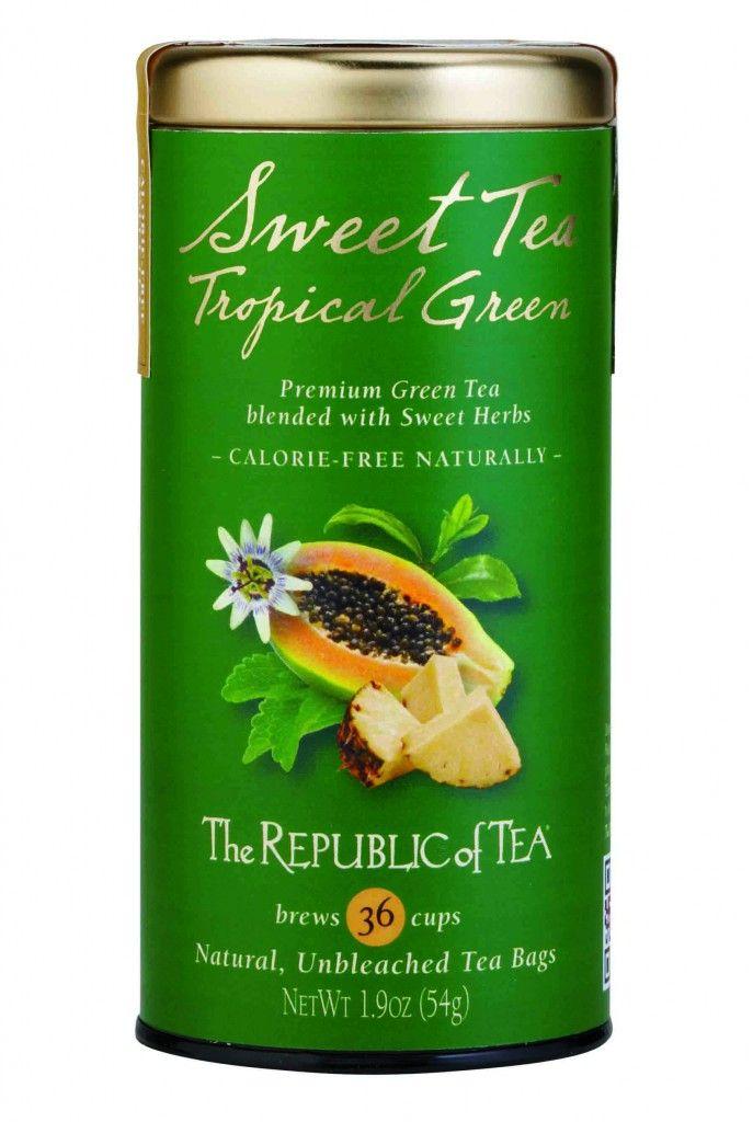 Sweet Tea Tropical Green - Panera Bread's green tea?!?