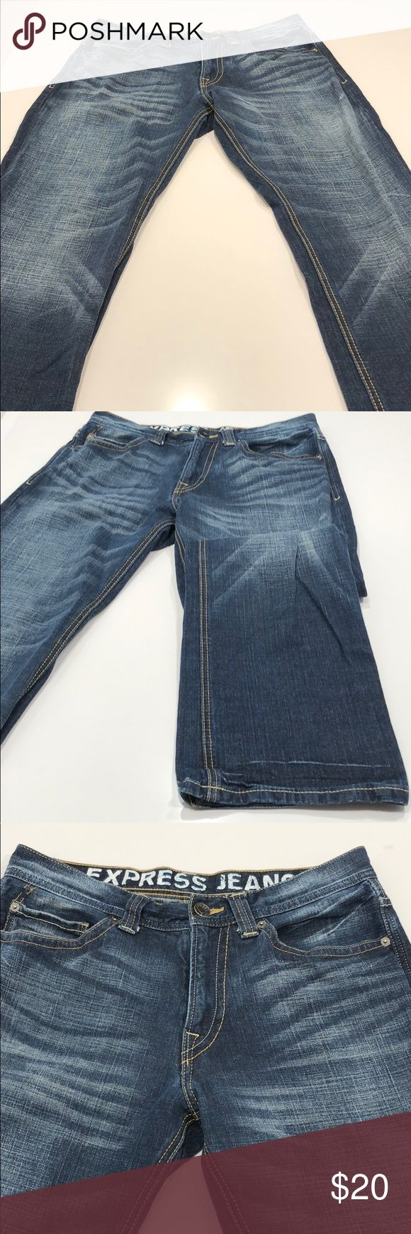 👖Express Men jeans 31x32. Like new . 👖 Basically new. 31x32 express men's jeans Express Jeans Bootcut