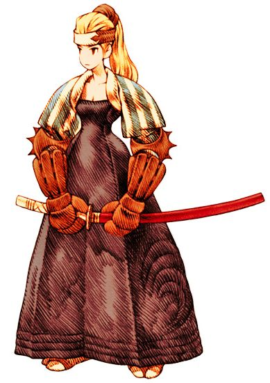 Samurai (Tactics) - The Final Fantasy Wiki has more Final Fantasy information than Cid could research, FFTSamuraiFemale.png