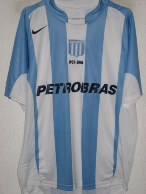 Racing Club Home football shirt 2005