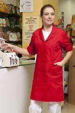 PAGAMENTO ANCHE ALLA CONSEGNA Camice da Lavoro Donna Manica corta Alimentare Laboratorio Abbigliamento Abiti