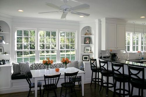 126 Best Images About Diningroom Tables W/ Bench Seating