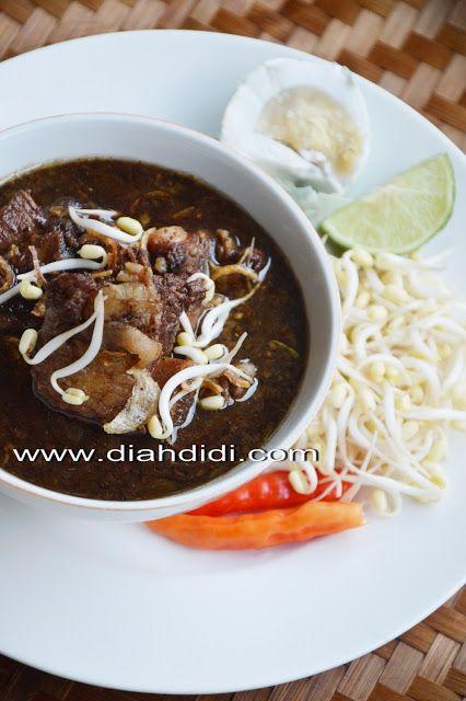 Diah Didi's Kitchen:Rawon Iga ( Jawa Timur )